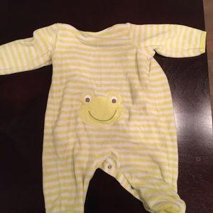Carters frog onesie